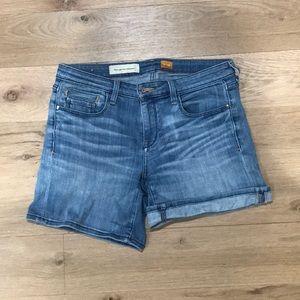 Pilcro denim shorts